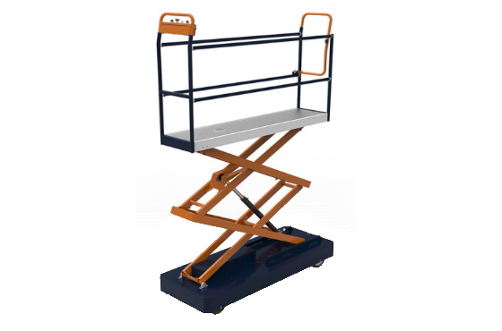 benomic pipe rail trolley